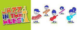 Jazz in the Hubs logo