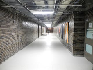 C Wing Corridor