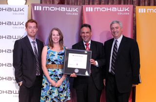2011 Presidents Breakfast_Friend of Mohawk Award_ArcelorMittal Dofasco