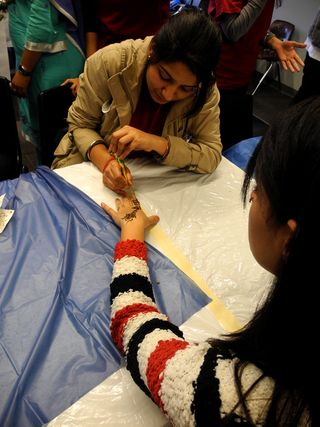 2011_Mohawk College International Education Week_Henna