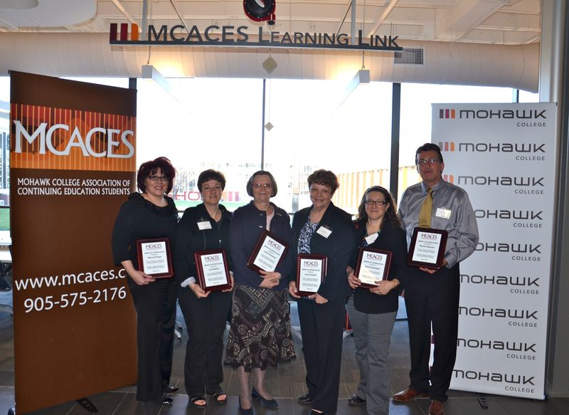 MCACES award recipients